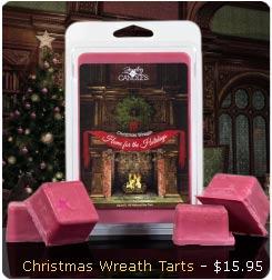 Christmas Wreath Wax Tart