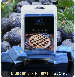 Blueberry Pie Wax Tarts