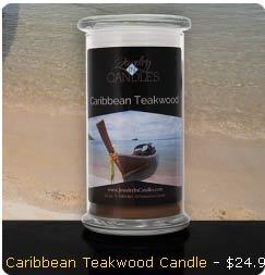 Caribbean Teakwood Candle