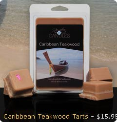 Caribbean Teakwood Wax Tarts