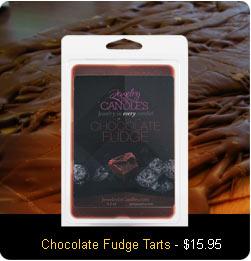 Chocolate Fudge Wax Tarts