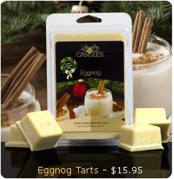 Eggnog Wax Tart