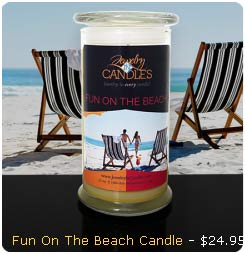 Fun on The Beach Candle