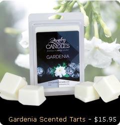 Gardenia Scented Wax Tarts