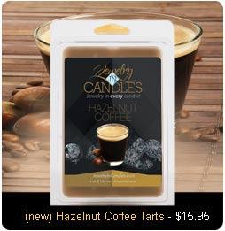 Hazelnut Coffee Wax Tarts