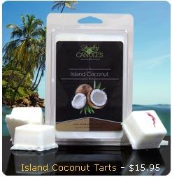 Island Coconut Wax Tart
