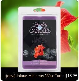 Island Hibiscus Wax Tarts