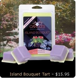 Island Bouquet Wax Tarts