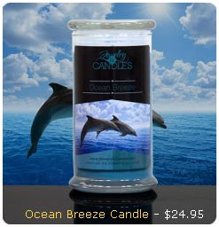 Ocean Breeze Candle