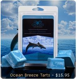 Ocean Breeze Wax Tarts
