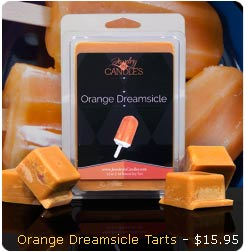 Orange Dreamsicle Wax Tarts