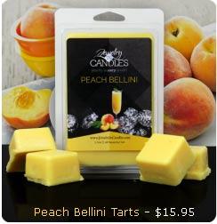 Peach Bellini Wax Tarts