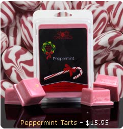 Peppermint Scented Wax Tarts