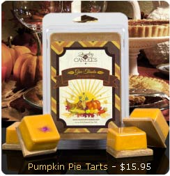 Pumpkin Pie Wax Tarts