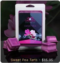Sweet Pea Wax Tarts