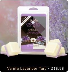 Vanilla Lavender Wax Tarts